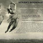 3.10. Workshop: Setkání s Bioenergetikou